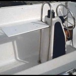 Boat Accessories: Pedestal Guard & Handrail